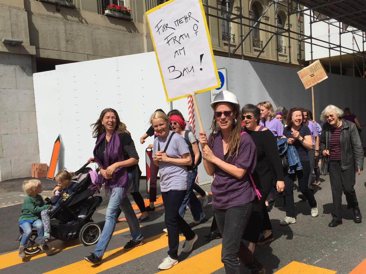 ABAP am Frauenstreik 14.6.19 - 2